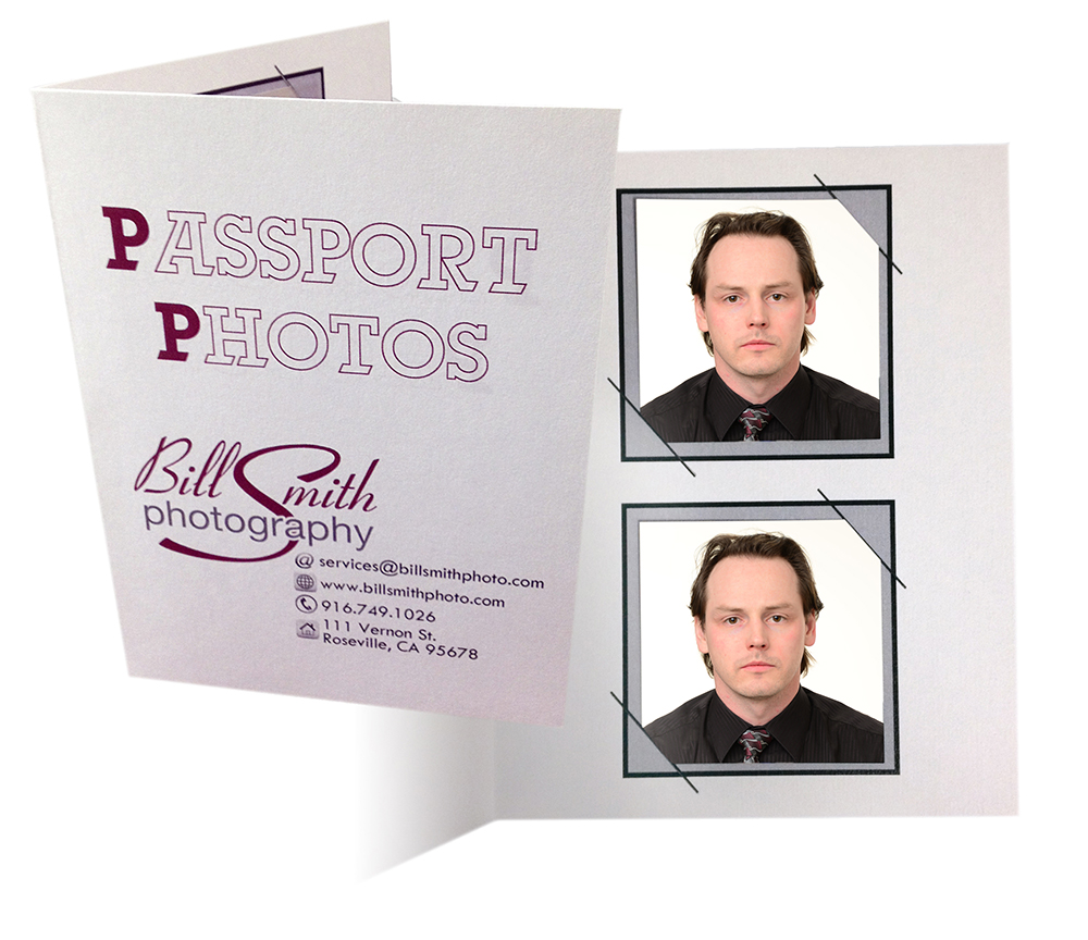 Image of 2 passport photos