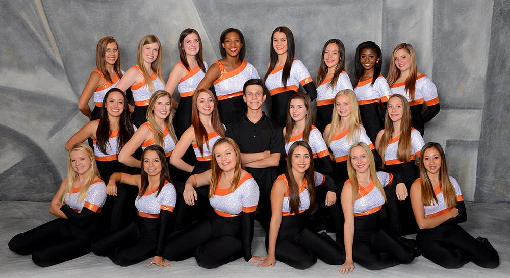 Dance orange & black